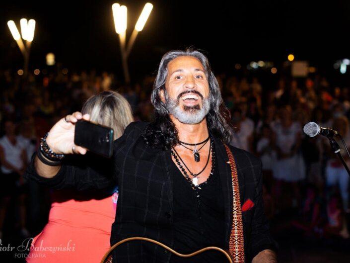 Luigi LP Pagano z zespołem. Festiwal Gwiazd w Międzyzdrojach 2020